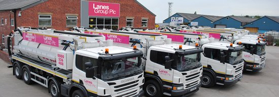 Lanes Group PLC Drainage Fleet