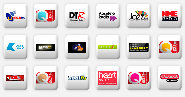 a selection of northern ireland radio stations